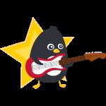 Pingouin Guitare