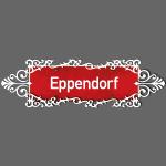 HAMBURG. Eppendorf Ortschild mit Ornament
