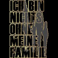 Ich bin nichts ohne meine Familie, Geschenkidee