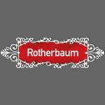 HAMBURG. Rotherbaum Ortschild mit Ornament