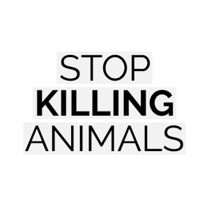 Stop Killing Animals Veganer Vegetarier Spruch