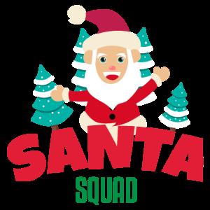 Santa Squad Weihnachtsmann Trupp - Geschenkidee