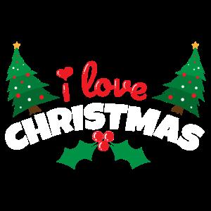 Weihnachten I love Christmas - Geschenkidee