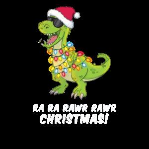 Weihnachten Dino cool Rawr Christmas Geschenk