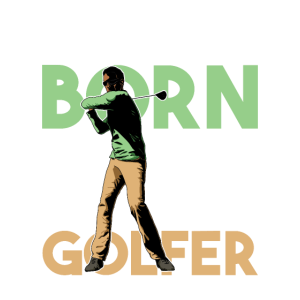 Natural Born Golfer Geschenkidee