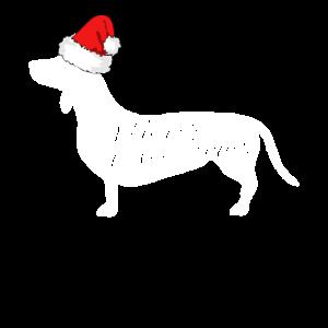 Merry Christmas Dackel Weihnachten Hunde