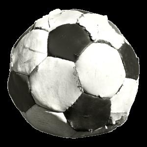 Alter Lederball