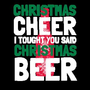 Weihnachtsstimmung Weihnachten Bier