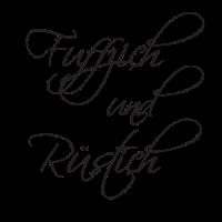 Fuffzich und Rüstich am 50. Geburtstag - Elegant!