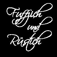Fuffzich und Rüstich zum 50. Geburtstag - Elegant!