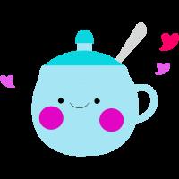 Tasse Zucker