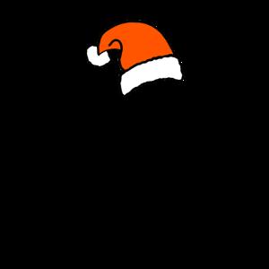 Dabbing Santa Nikolaus Weihnachtsmann Geschenk