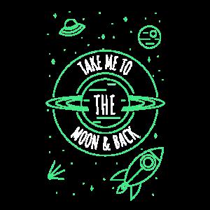 Take me to moon & back