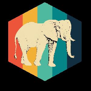 Elefant Oldschool 1970s