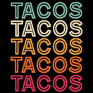 Tacos Retro Vintage