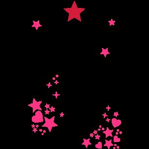 Sternenhimmel roter stern Sterne Sternchen