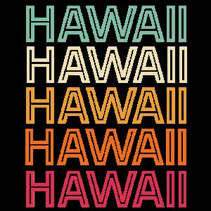 Hawaii Retro Vintage