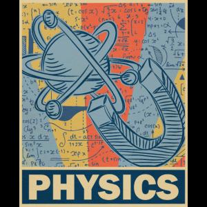 Physik Retro Vintage Old School Geschenk Lehrer