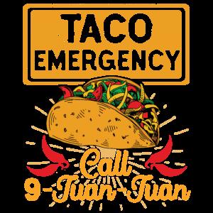 Taco-Notruf 9 Juan Juan Cinco De Mayo