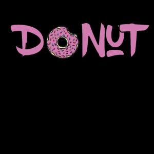 Donut Graffiti Wortkunst Nachtisch Wortspiel