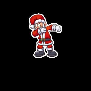 Dabbing Dab Weihnachten Weihnachtsmann Dance Move