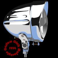 Motorradscheinwerfer Custom