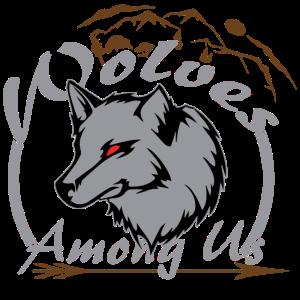 Polar Wolf Geschenk Tier Rudel wild Vollmond Natur