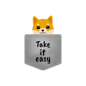 Hund in der Brusttasche