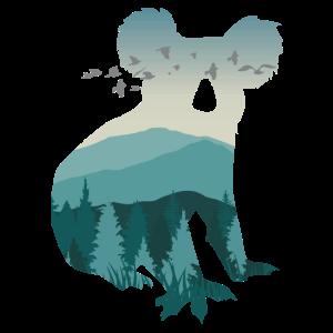 Koala Wald Shirt