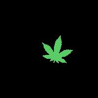 Gras Hanf Cannabis Kiffer Shirt Joint Geschenkidee