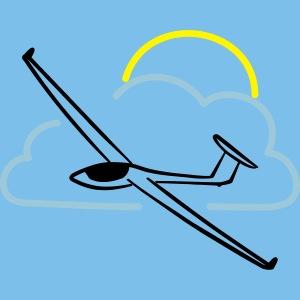 Segelflieger Segelflugzeug gleiten Geschenk Tshirt