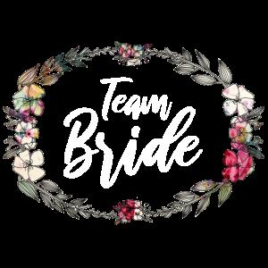 Team Bride - Junggesellinnenabschied - Blumenkranz