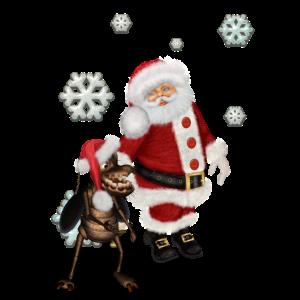Frohe Weihnachten lustige Kakerlake