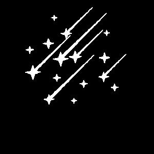 Sternschnuppe Sternenhimmel Sterne Weltraum