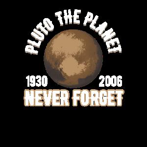 Pluto (19302006) Vergiss niemals die Planetenforschung