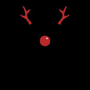 Team Rudolph Weihnachtsfeier Xmas Gruppenshirt