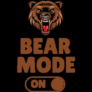 Bear Mode On Bär Bärenmodus Fitness