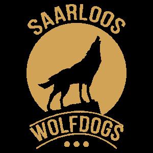 Saarlooswolfhund Rasse Shepherd Mond heulen Rudel