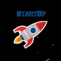 Start Up Rakete Entrepreneur