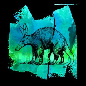 Erdferkel aardvark erdferkel T Shirt Geschenk