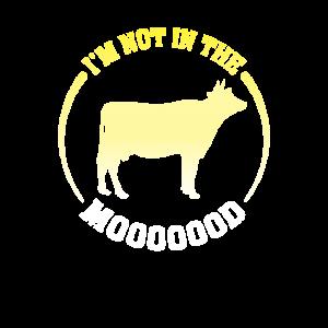 Witziges Kuh Motiv