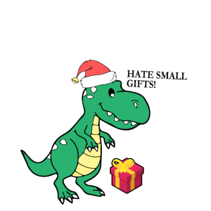 T-Rex Weihnachten Dinosaurier Geschenk Tyronnosaur