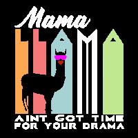 Lustiges Lama Drama Geschenk