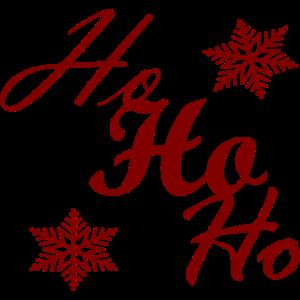 Weihnachten Ho Ho Ho