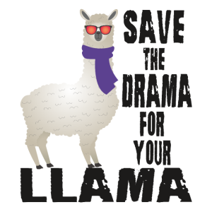 Save the drama for your llama, Lamadesign,Fans,