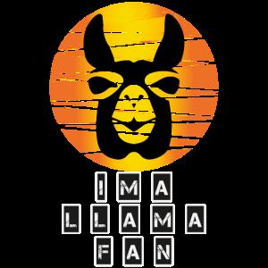 IM A LAMAFAN,Lama Fans, Animal,Design,Tier