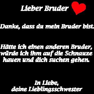 Lieber Bruder...