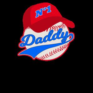 Baseball-Vater-Vatertags-Männer-Vati-Vati