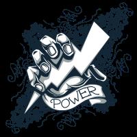 power  blitz tattoo