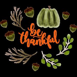 Thanksgiving laub